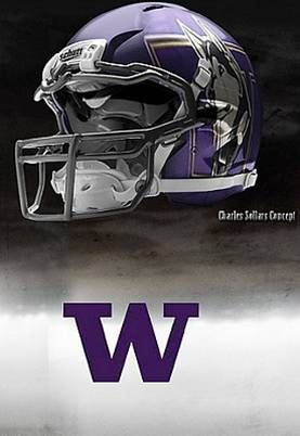 University of Washington Huskies - concept football helmet