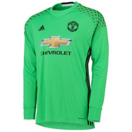 Manchester United 16-17 Keeper Borte Drakt Langermet.  http://www.fotballpanett.com/manchester-united-16-17-keeper-borte-drakt-langermet.  #fotballdrakter