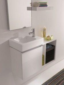 17 beste idee n over kleine ruimte badkamer op pinterest klein appartement opslag kleine - Deco kleine badkamer met bad ...