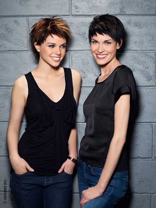 Trendy Short Hair For Women Cabello Pelo Corto Y Belleza