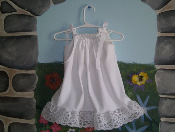 Adorable White Beach portrait dress with wide by BKayesBoutique, $23.00