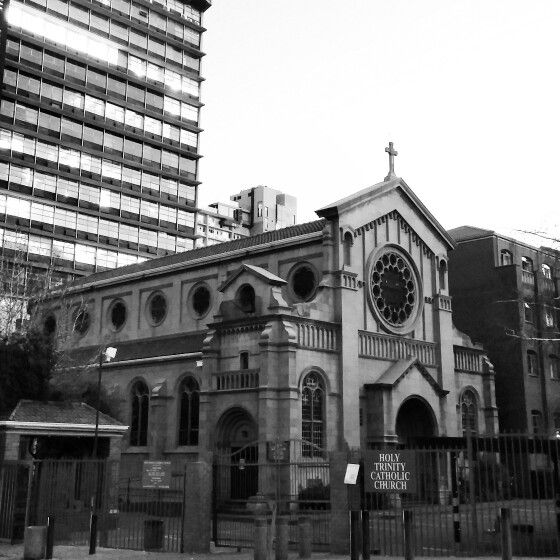 The holy trinity church in Braamfontein,  Johannesburg -  June 2014