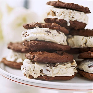 Candy Bar Ice Cream Sandwiches