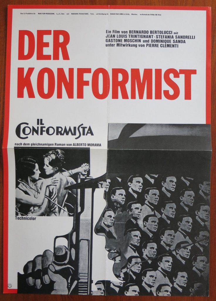 THE CONFORMIST (1970) Original A2 German Movie Poster + 5 Lobby Cards BERTOLUCCI | eBay