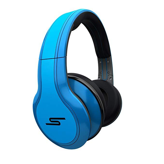 Street By 50 Cent Wired Over Ear Headphones Blue By Sms Audio