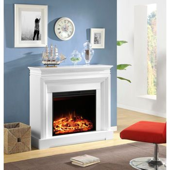 Electric Fireplaces Mantels And Costco On Pinterest