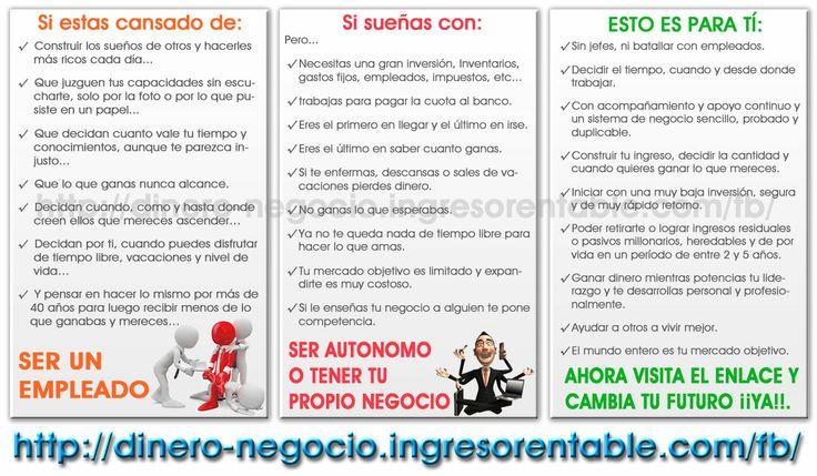 VISITANOS ¡¡YA!! HAZ CLIC EN: http://dinero-negocio.ingresorentable.com/fb/