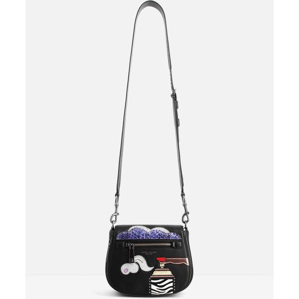 Marc Jacobs Marc Jacobs Verhoeven Bag (€335) ❤ liked on Polyvore featuring bags, handbags, shoulder bags, black, marc jacobs, marc jacobs shoulder bag, marc jacobs purse, marc jacobs handbags and magnetic purse