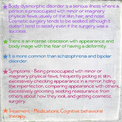 Best Bdd Images On   Mental Health Disorders And