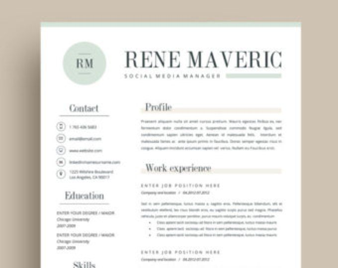 20 best Professional Resume Templates images on Pinterest Cover - reference sheet for resume