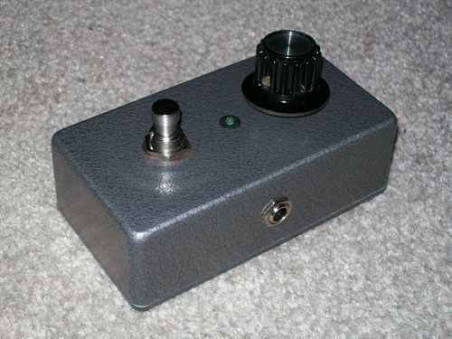Picture of Make an easy guitar distortion pedal (STEP BY STEP!)