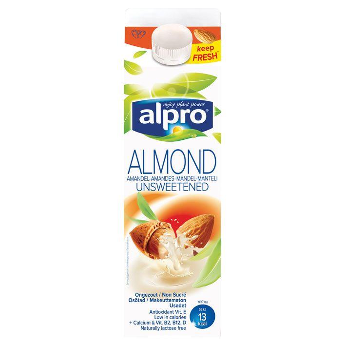 Alpro 'melk' Amandeldrink fresh ongezoet #vegan