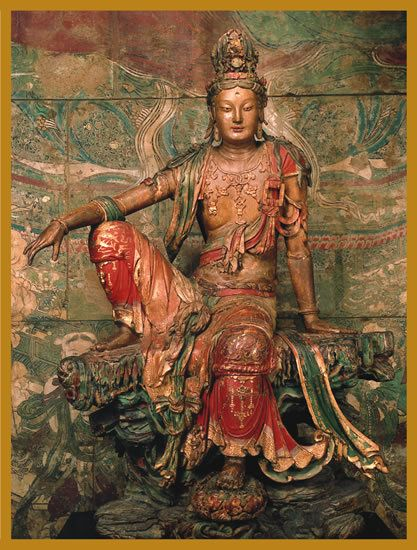 Kwan Yin - also Quan Yin, Guan Yin or Guanyin - is the Bodhisattva of…