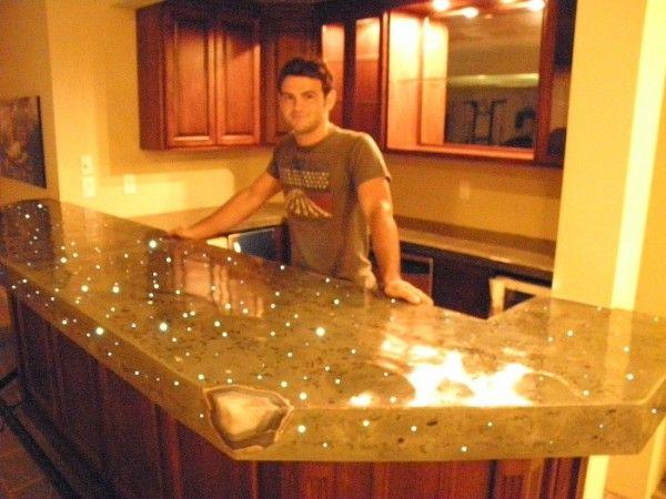Polish Bar Top Epoxy Counter – Home Decor Ideas