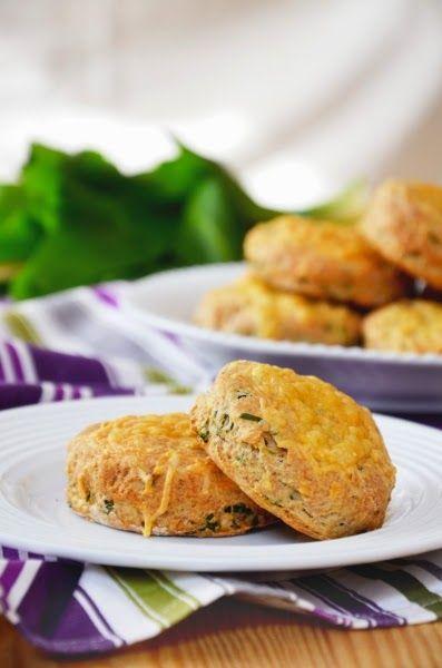 Medvehagymás scone  Tipikus Flammeres: Egy újabb scone reggelire