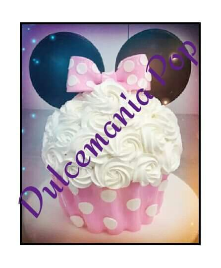 Cupcake Gigante Minnie