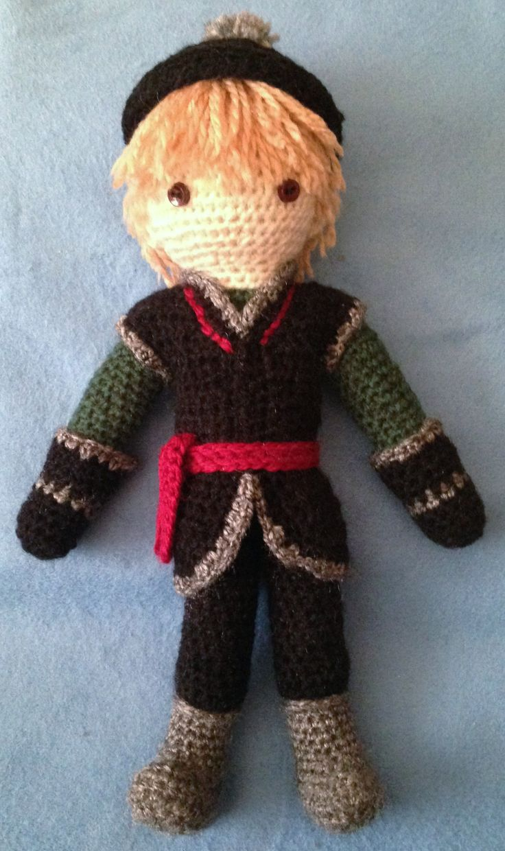 Amigurumi Frozen : Amigurumi doll based on kristoff from disney s quot frozen