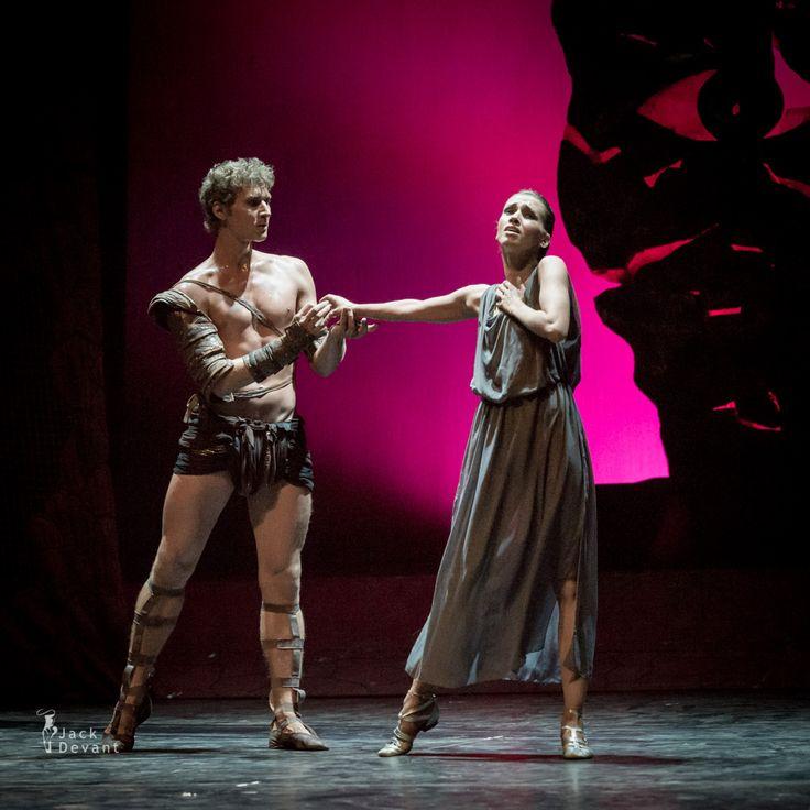 Anna Ignatieva and Maksim Tkachenko in Spartacus