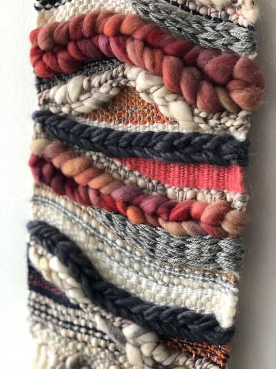 Geflochtener Wandbehang | Gewebter Wandteppich | Wandteppich Weben | Wohnkultur …
