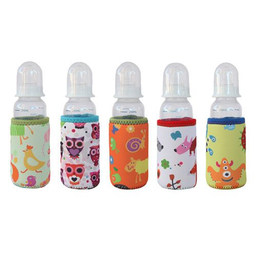 BabyU bottles and gorgeous insulated covers