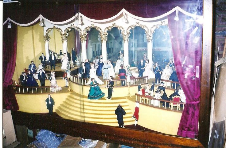 Ballroom. This display now resides in an antique store. By Mez