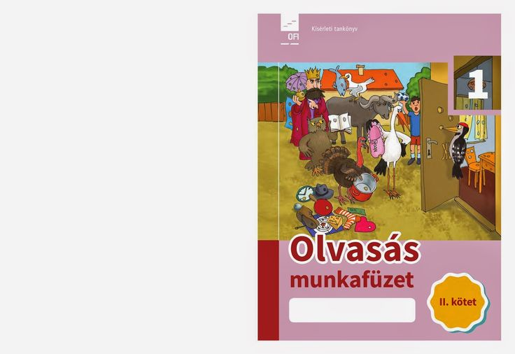 Marci fejlesztő és kreatív oldala: Olvasás munkafüzet 1. o. 1.-2. kötet