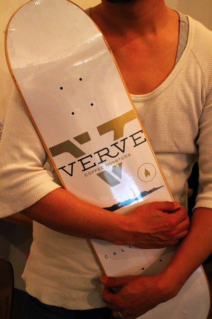 昨日、Verve Coffee Roastersの最後のデックが旅立ちました☆