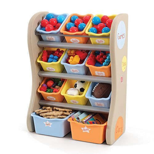 New Step2 Fun Time Room Organizer 728900, Tropical  (FREE SHIPPING) #Step2