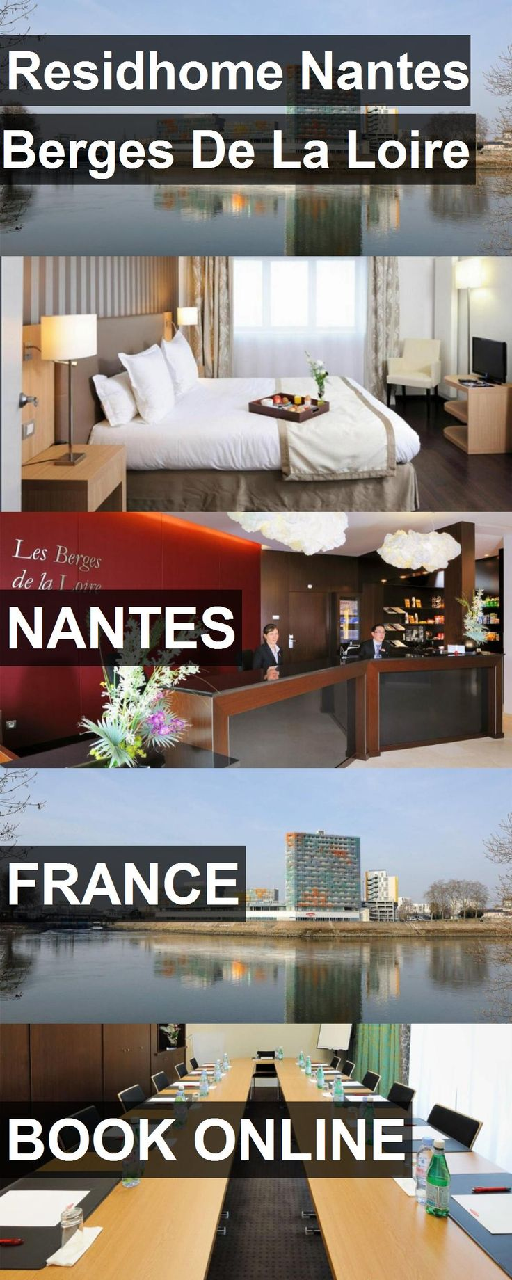 Hotel Residhome Nantes Berges De La Loire in Nantes, France. For more information, photos, reviews and best prices please follow the link. #France #Nantes #travel #vacation #hotel