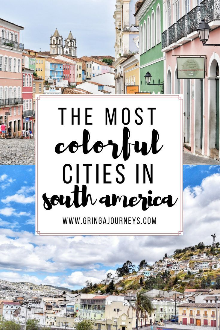 Looking for your next vibrant destination? Look no further! I'm counting down the most colorful cities in South America for you to add to your list.