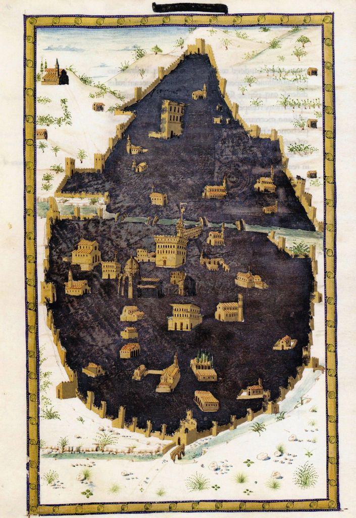 Poggio Bracciolini Storia Fiorentina c 1470 Biblioteca