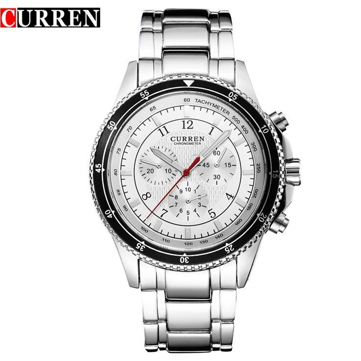 11.99$  Watch now - HOT Curren Watches Men Luxury Brand Military Watch  Wristwatch Fashion Casual Water Resistant Army Sports Quartz Watch8055  #magazineonline