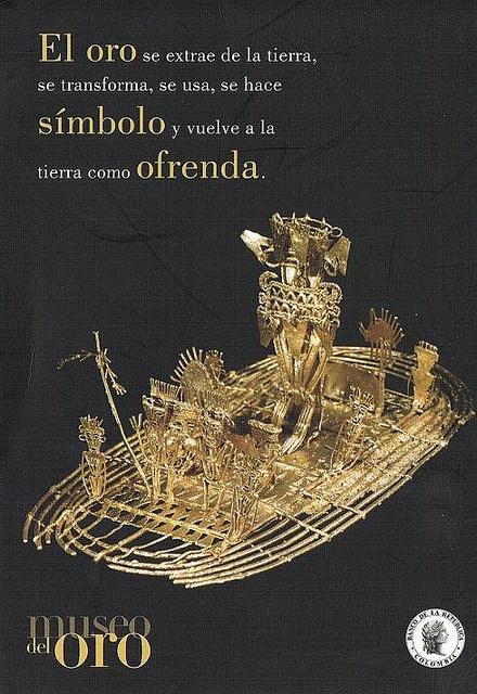 Museo del Oro brochure