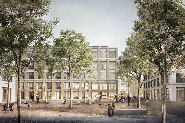Mullerreimann Architekten Carite Berlin De In 2020 Berlin Street View Campus