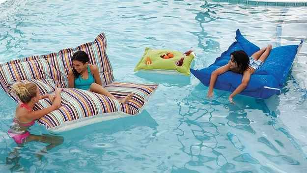Floating Beanbags