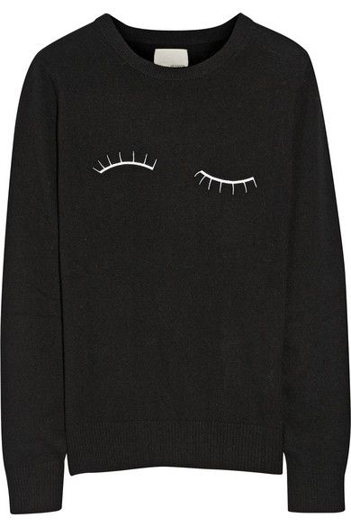 embroidered sweater / band of outsiders