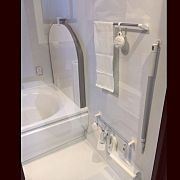 Bathroom/無印/お風呂/洗面器/お風呂収納/吊るす収納...などのインテリア実例 - 2016-10-31 10:55:15