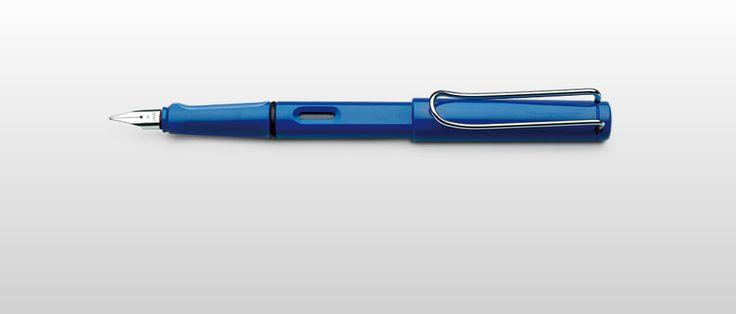 Lamy Safari pióro wieczne niebieskie 14 - Ekskluzywne pióra wieczne - Waterman, Pelikan, Mont Blanc, Delta, Sailor