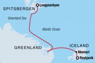 destinations arctic svalbard greenland iceland