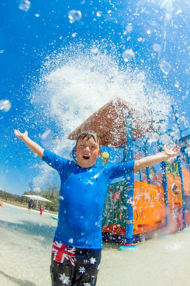 KING OF THE #SPLASHPARK at BIG4 Saltwater @ Yamba Holiday Park