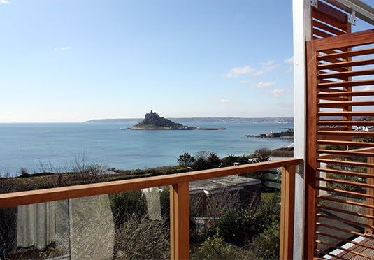 A choice of room types at a zen retreat overlooking St Michael's Mount - one of the best-located hotels in Cornwall