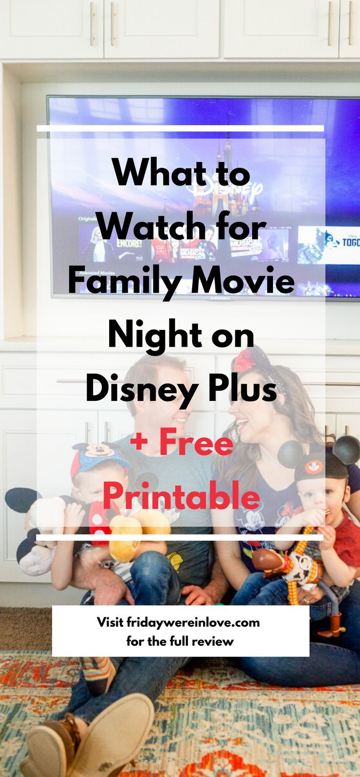Disney Plus Watchlist For Families Free Printable Friday We Re In Love Disney Plus Family Movies Family Movie Night