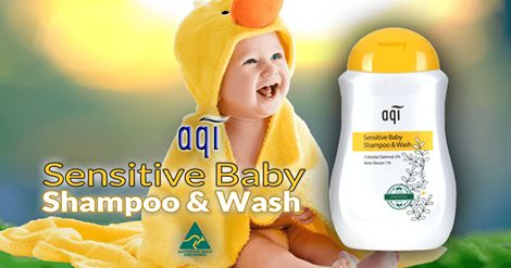AQI Sensitive Baby Shampoo and Body Wash This premium, soap free Sensitive Baby Shampoo and Body Wash is made with the highest quality ingredients carefully selected to gently cleanse your baby's delicate skin and hair. Tear free and soap free, safe and gentle enough for daily use on newborns and babies with sensitive skin.  To purchase the product, please visit: http://www.aqicare.com/buy/aqi-sensitive-baby-shampoo-and-body-wash-300ml/0378 #naturalskincare #skincareproducts #Australianski