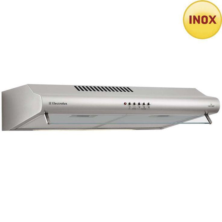 Depurador de Ar Electrolux DE60X - 60 cm - Inox - Depuradores de Ar no Pontofrio.com