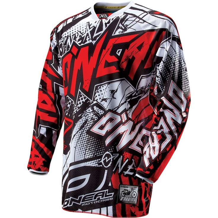 O'Neal Racing Hardwear Automatic Men's MotoX/Off-Road/Dirt Bike Motorcycle Jersey - http://downhill.cybermarket24.com/oneal-racing-hardwear-automatic-mens-motoxoffroaddirt-bike-motorcycle/