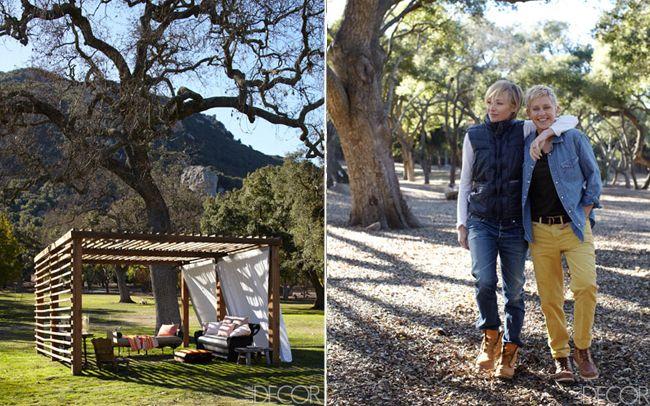 Ellen DeGeneres and Portia de Rossi's Californian Ranch