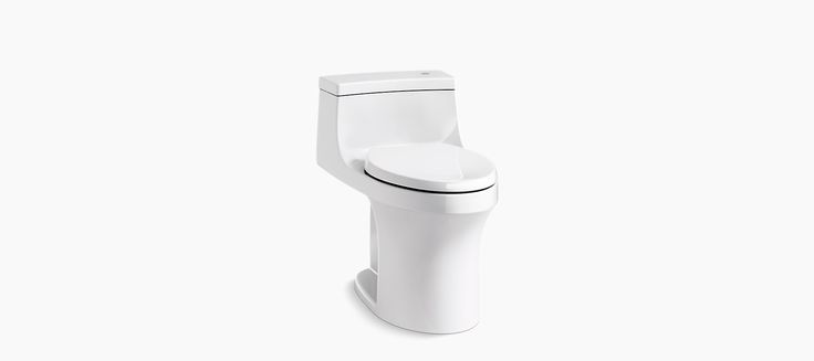 With powerful AquaPiston flush technology, the K-4000 toilet offers a sleek, low-profile design combined with KOHLER touchless flush.