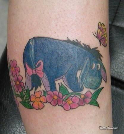 winnie the pooh eeyore tattoo tattoo ideas eeyore