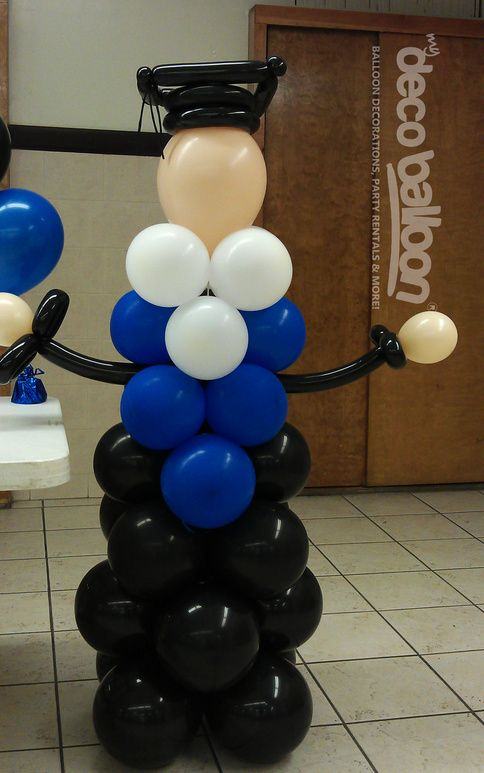 The 25 best graduation balloons ideas on pinterest grad for Balloon decoration graduation