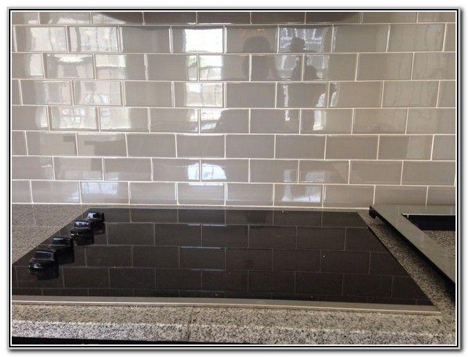gray subway tile backsplash google search - Ubahnaufkantung Grau